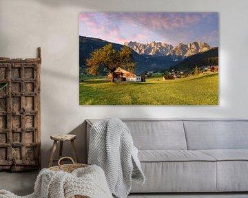 In het Gosau-dal in Oostenrijk van Michael Valjak