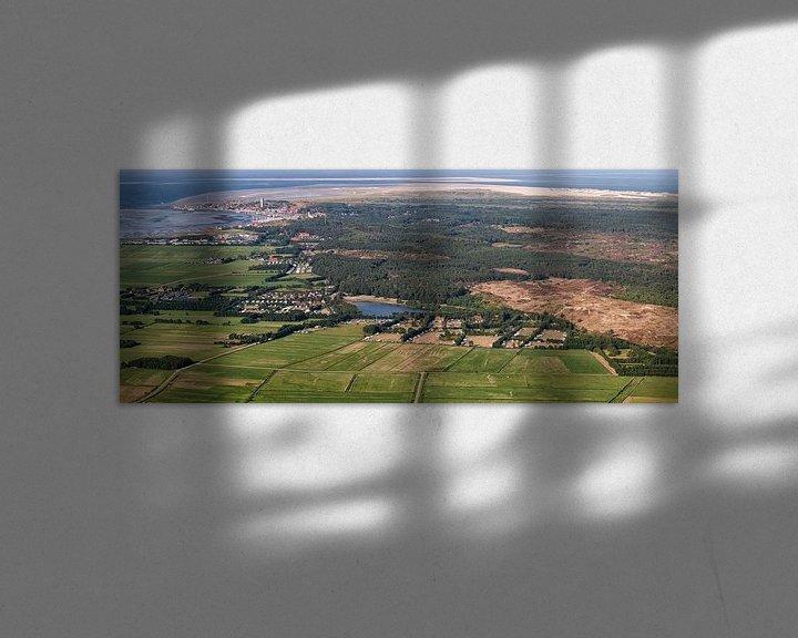 Sfeerimpressie: Zicht op West Terschelling van Roel Ovinge