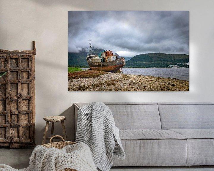 Beispiel: Verlassenes Schiff in Fort William, Schottland von Pascal Raymond Dorland