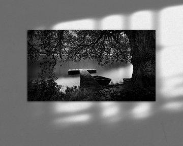 Steinsteg am Invergarry Hotel / Schloss von Pascal Raymond Dorland