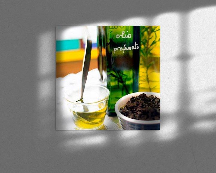 Sfeerimpressie: olijfolie3a van Liesbeth Govers voor omdewest.com
