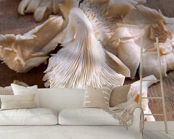 Sfeerimpressie behang: paddestoel0404 van Liesbeth Govers voor omdewest.com