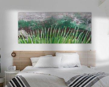 Gras abstract von Susanne A. Pasquay