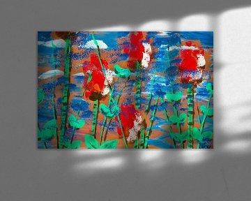 """""""Vielleicht Blumen"""" von Susanne A. Pasquay"""