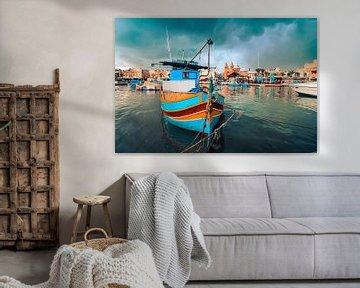 Maltese vissers van Susanne Viset
