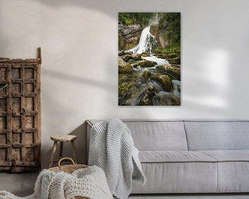Gollinger waterval Oostenrijk van Michael Valjak
