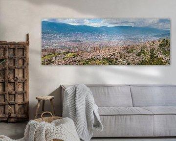 Medellín Panorama van Ronne Vinkx