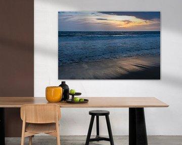 Strand van Playa los Angeles van Ronne Vinkx