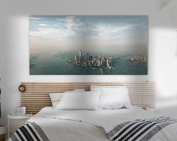 New York panorama van Bas Glaap