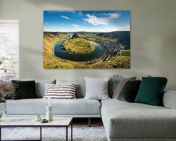 Boucle de la Moselle près de Bremm sur Michael Valjak