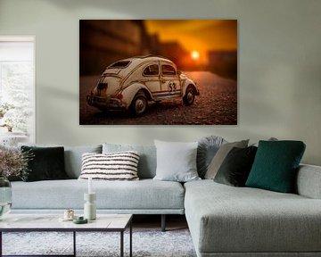 de zon die Herbie raakt van Leo leclerc