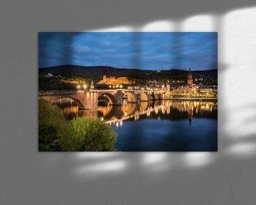 Heidelberg Alte Brücke von Michael Valjak