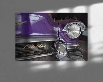 Paarse Cadillac sur Monique ter Keurs