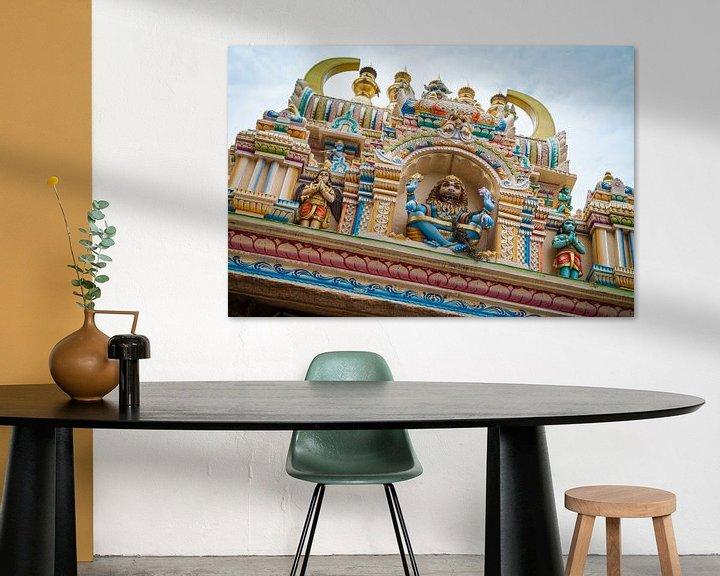 Sfeerimpressie: Indiase tempel van Jan Schuler