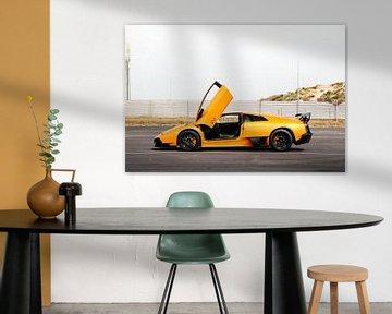Lamborghini Murcielago SV klaar om te racen! van joost prins