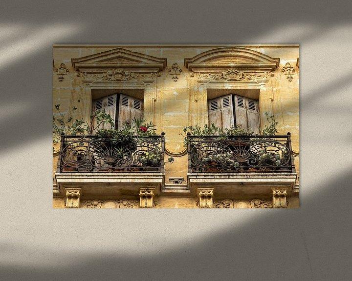 Sfeerimpressie: Balkon in Renaissance style van Peters Foto Nieuws l Beelderiseren