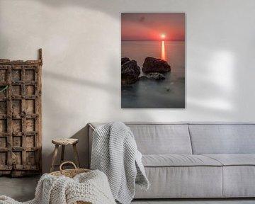 Ochtend licht op het eiland Zakynthos