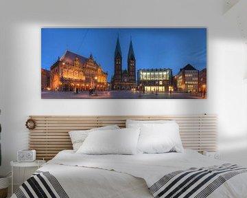 Rathaus und Dom, Bremen