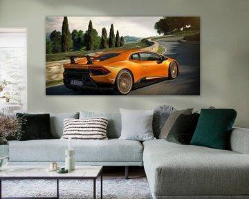 Lamborghini Huracan Performante Motion 5 supercar