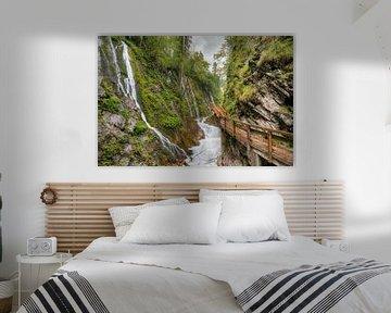 Wimbach kloof in Ramsau bij Berchtesgaden van Michael Valjak