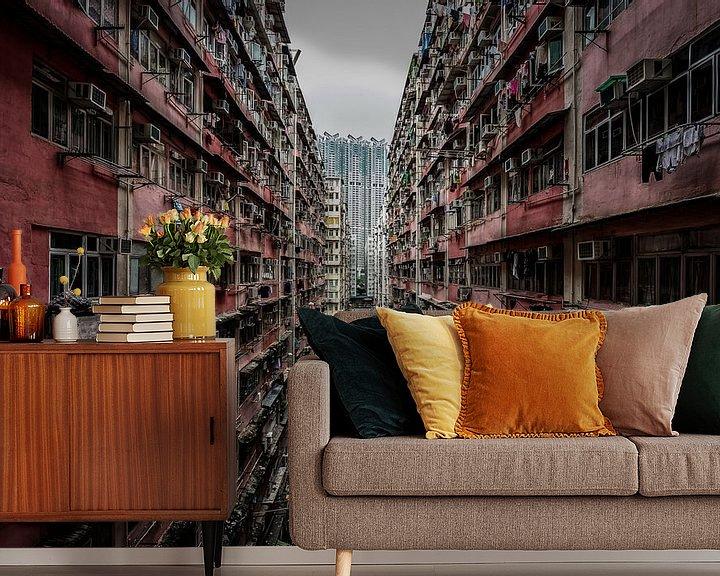 Beispiel fototapete: Hong Kong Urban Jungle von Mario Calma
