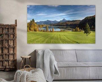 Weissensee bei Füssen im Allgäu von Michael Valjak