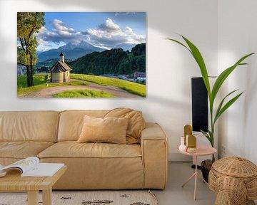 Berchtesgaden Kapelle am Lockstein von Michael Valjak