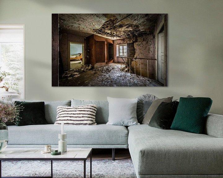 Beispiel: Schlafzimmer in baufälligem Haus von Inge van den Brande
