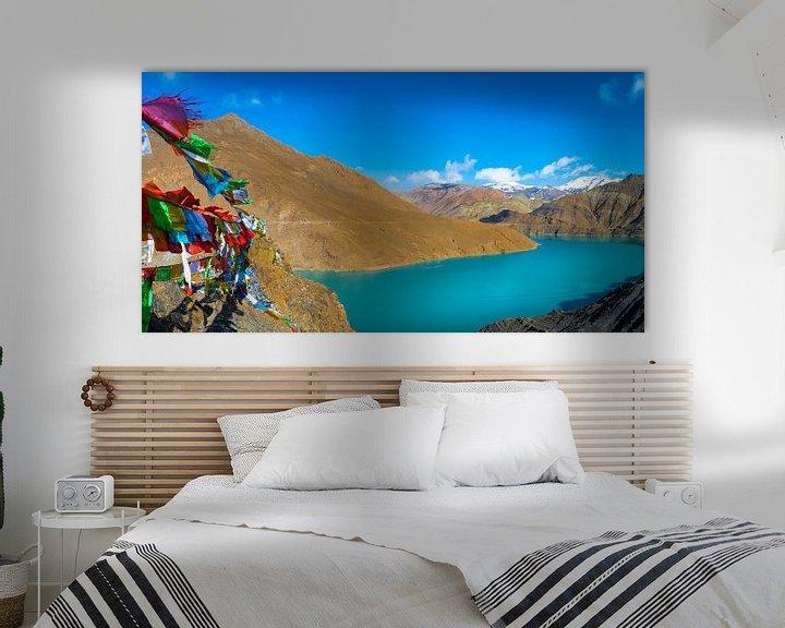 Sfeerimpressie: In de bergen van Tibet van Rietje Bulthuis