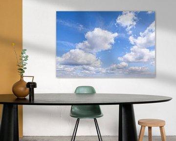Mooie wolkenlucht sur Nel Diepstraten