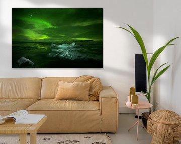 Noorderlicht en ijsbergen van René Wolters