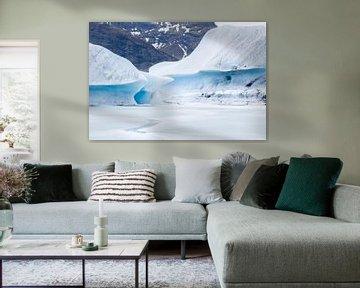 Ijsbergen van René Wolters
