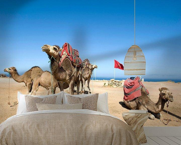 Sfeerimpressie behang: Marokko0036 van Liesbeth Govers voor omdewest.com