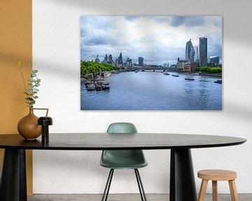 River Thames von Floor Schillemans
