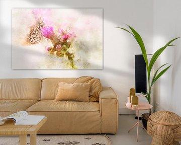 Schmetterling 17 von Silvia Creemers