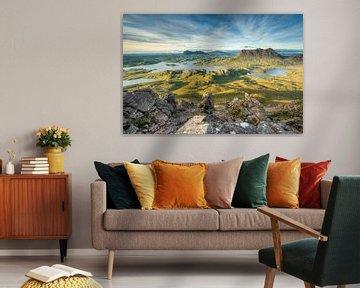 Aussicht vom Stac Pollaidh in Schottland sur Michael Valjak