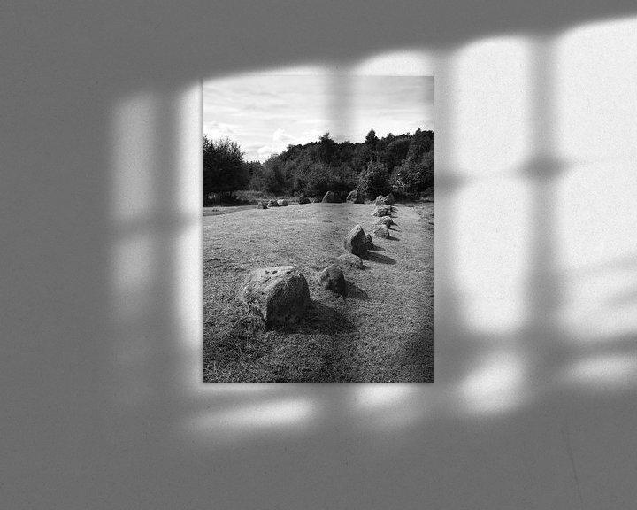 Sfeerimpressie: Dolmens at Lindeskov Hestehave, Ørbæk, Denmark van Jörg Hausmann