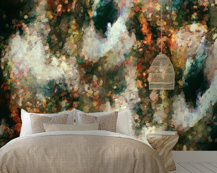 Sfeerimpressie behang: Unbang van GOOR abstracten