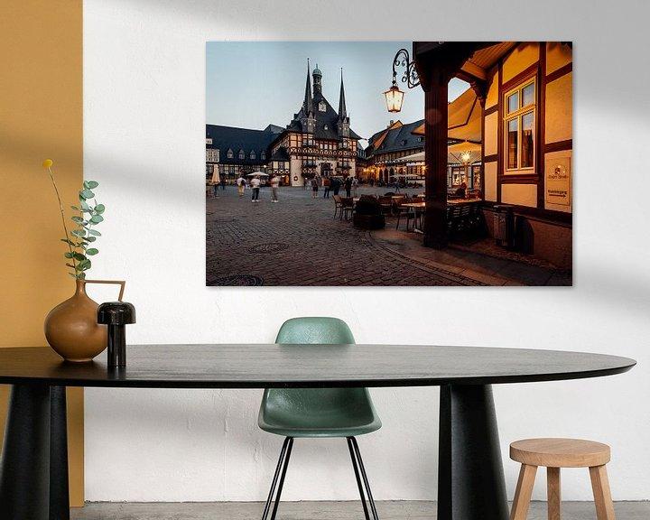 Beispiel: Rathaus Wernigerode von Oliver Henze