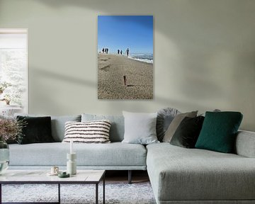 Am Strand auf Sylt von Norbert Sülzner