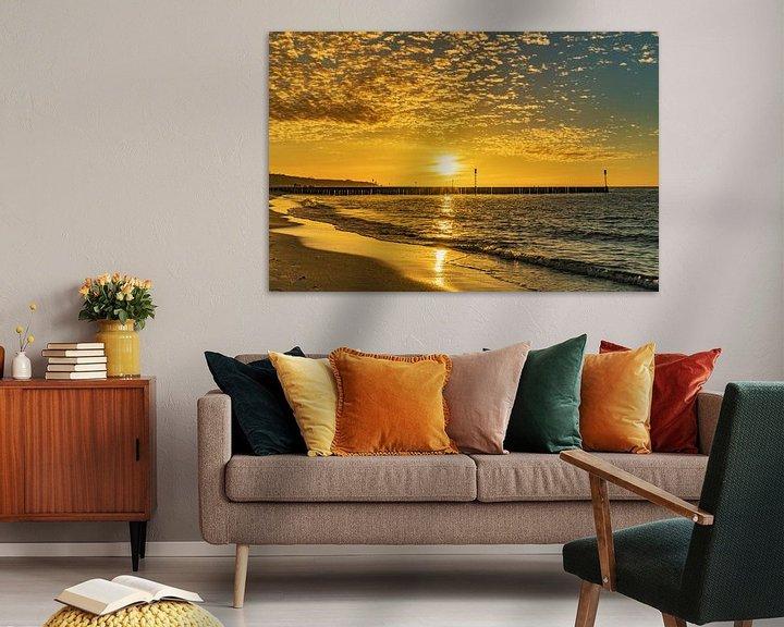 Beispiel: Sonnenuntergang am Strand von Gunter Kirsch
