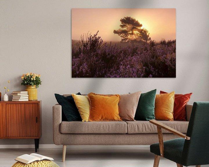 Sfeerimpressie: Morning glow landscape van Andrea Gulickx