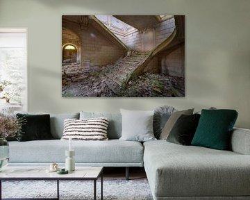 treppenruine treppenhaus von Kristof Ven