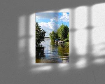 Blick durch die Teiche von Reeuwijkse von Leo Kramp Fotografie