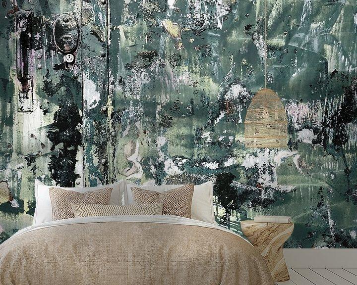 Sfeerimpressie behang: Urban Abstract 341 van MoArt (Maurice Heuts)