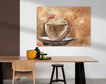 Kaffetasse van Jitka Krause