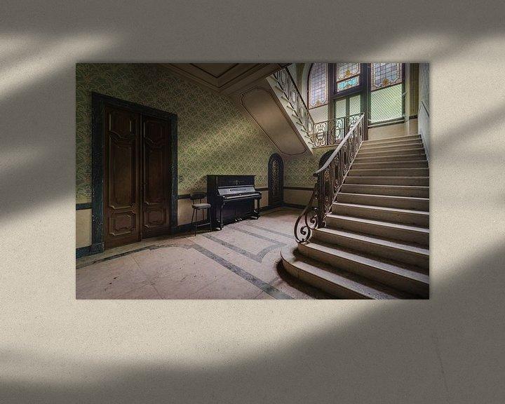 Beispiel: Treppe mit Klavier von Perry Wiertz