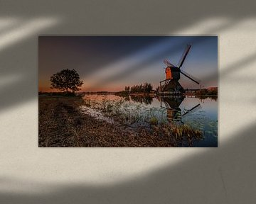 Windmolen reflectie