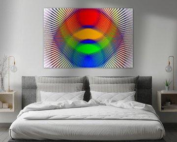 Kleuren stralen van Leo Huijzer
