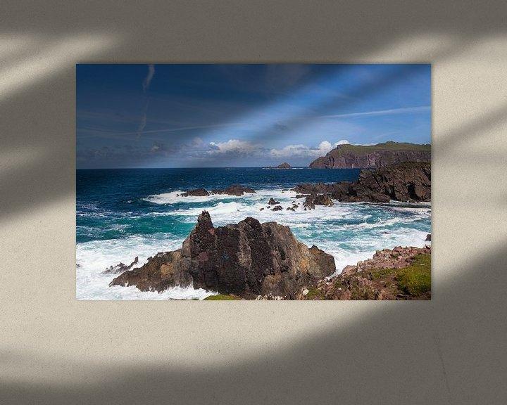 Sfeerimpressie: Clogher Strand in Ierland van Nel Diepstraten